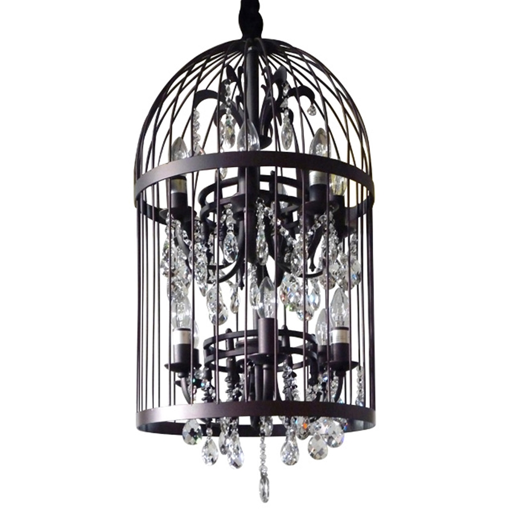 Caged Chandelier Shanti Designs In Cage Chandeliers (#4 of 12)