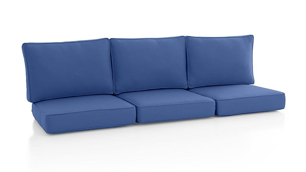Calistoga Sunbrella Sofa Cushion Crate And Barrel Regarding Sofa Cushions (#1 of 15)