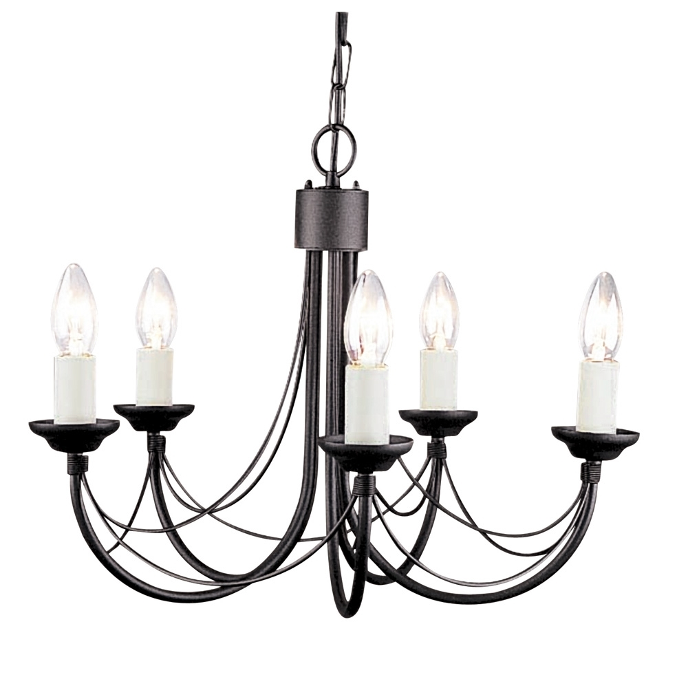 Candelabra Style Gothic Chandelier For Black Gothic Chandelier (View 10 of 12)