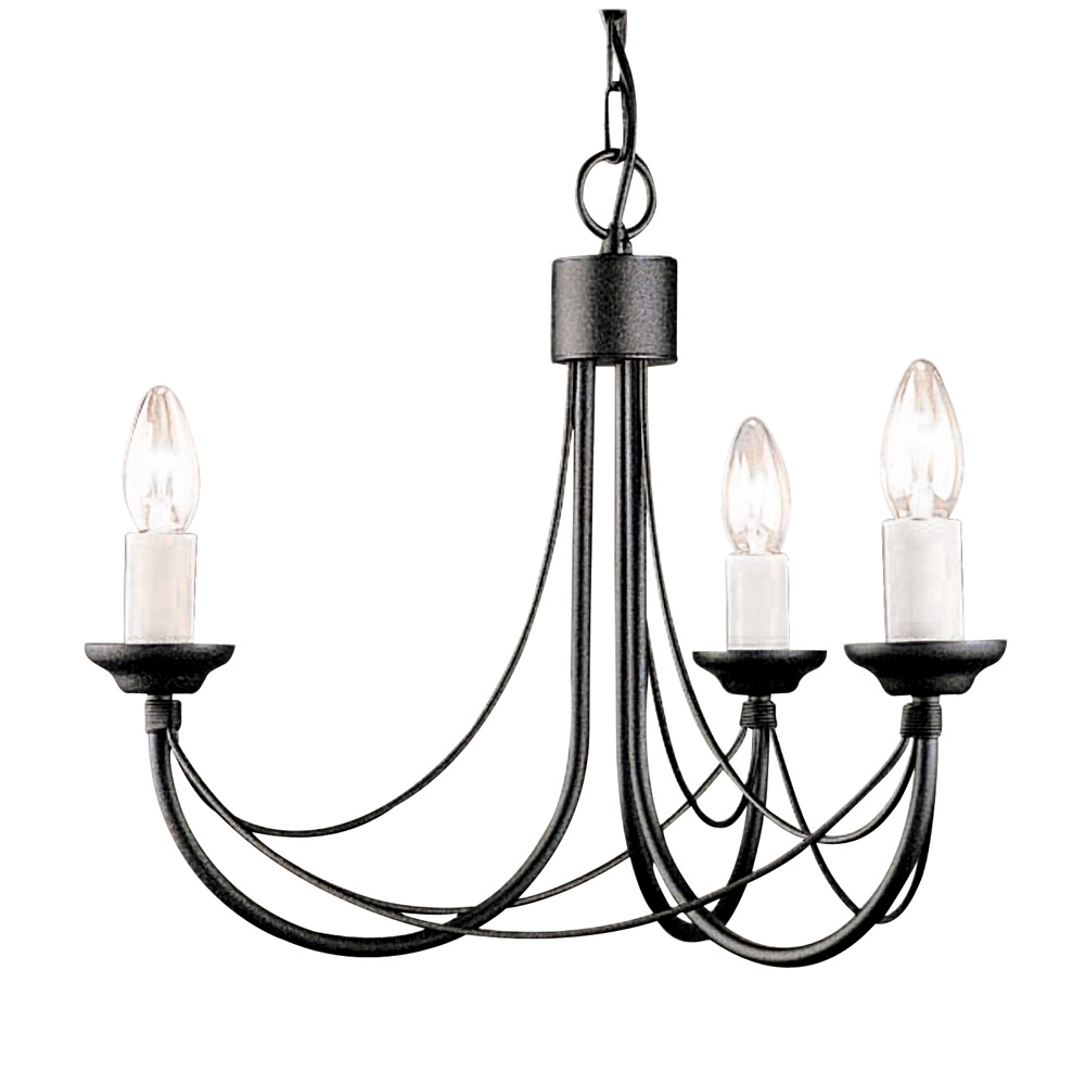 Candelabra Style Gothic Chandelier Within Black Gothic Chandelier (View 11 of 12)