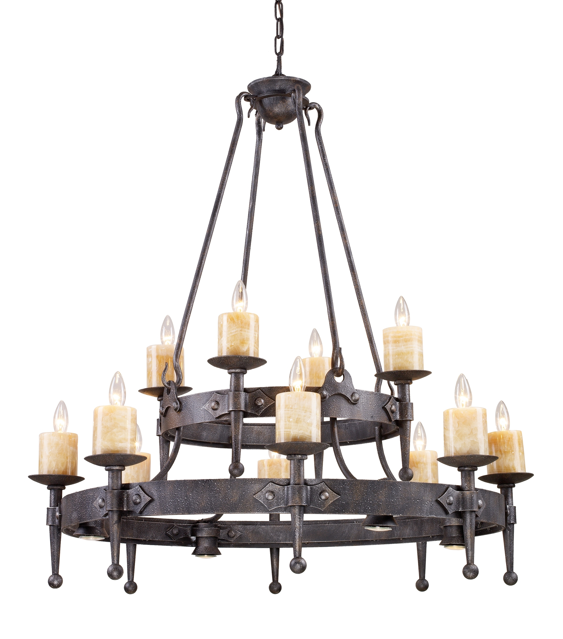 Candle Chandelier Perfect On Home Decoration Ideas With Candle Pertaining To Candle Chandelier (#2 of 12)