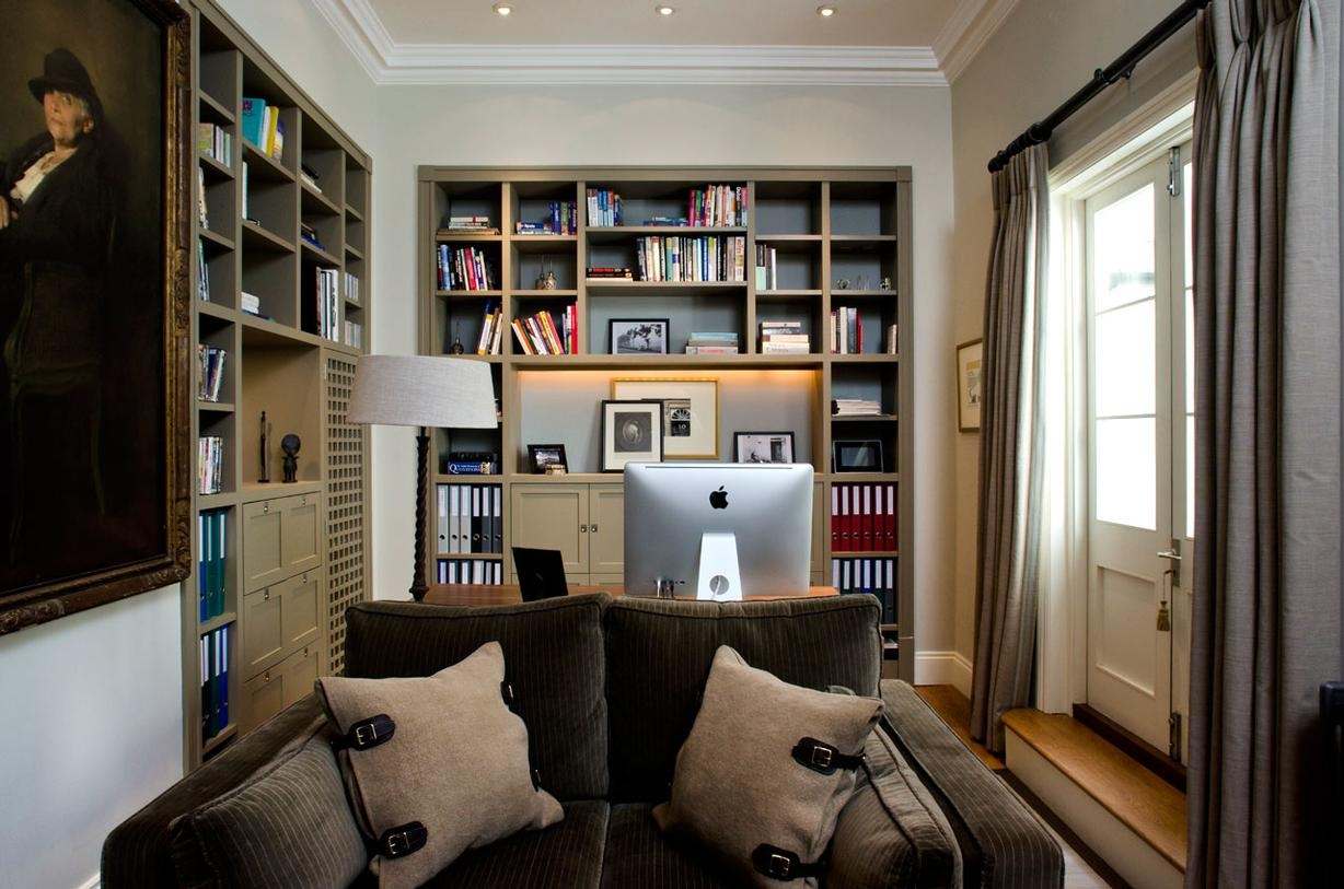Case Studies Old Queen Street Armaria Design With Study Shelving (View 15 of 15)