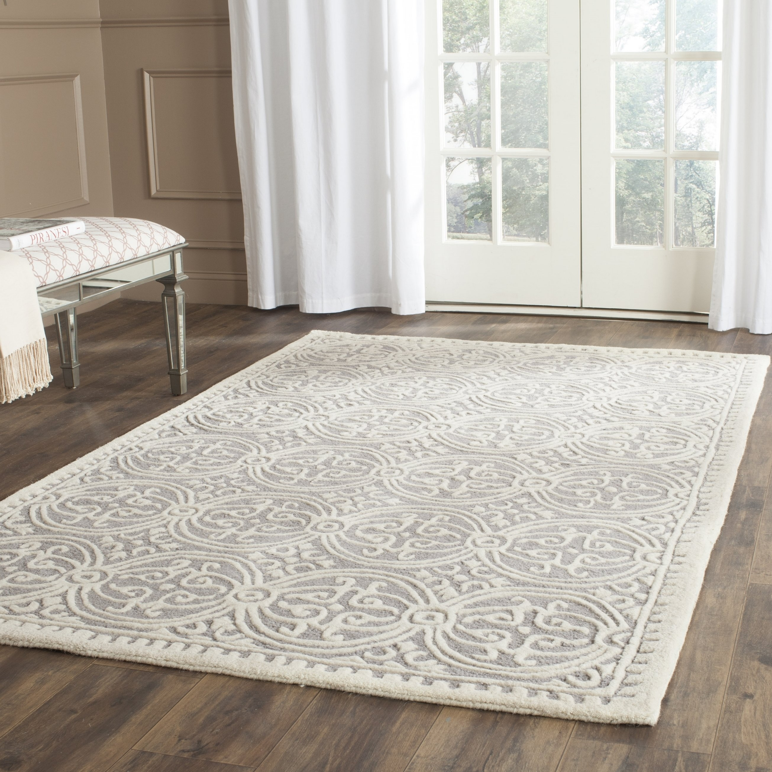 Popular Photo of Hand Tufted Wool Area Rugs