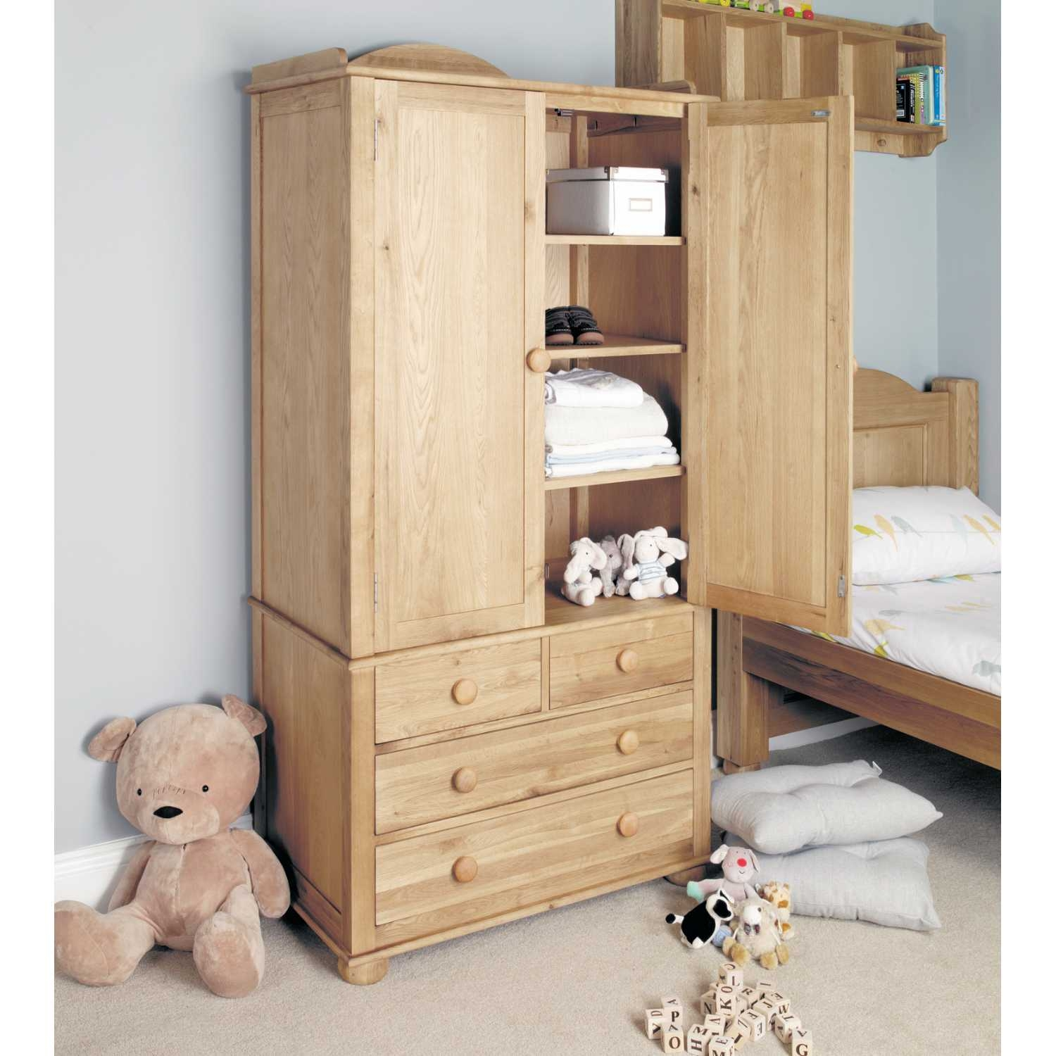 Popular Photo of Wardrobe With Drawers And Shelves