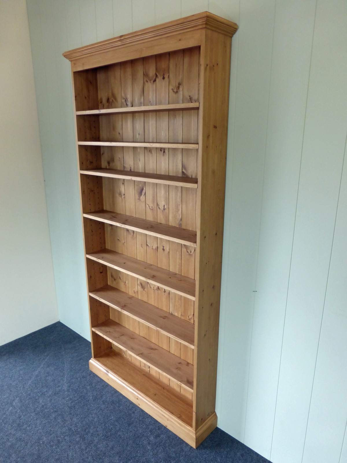 Cd Dvd Shelving Bookcases Pine Oak Painted And Bespoke With Regard To Bespoke Cd Storage (#5 of 15)