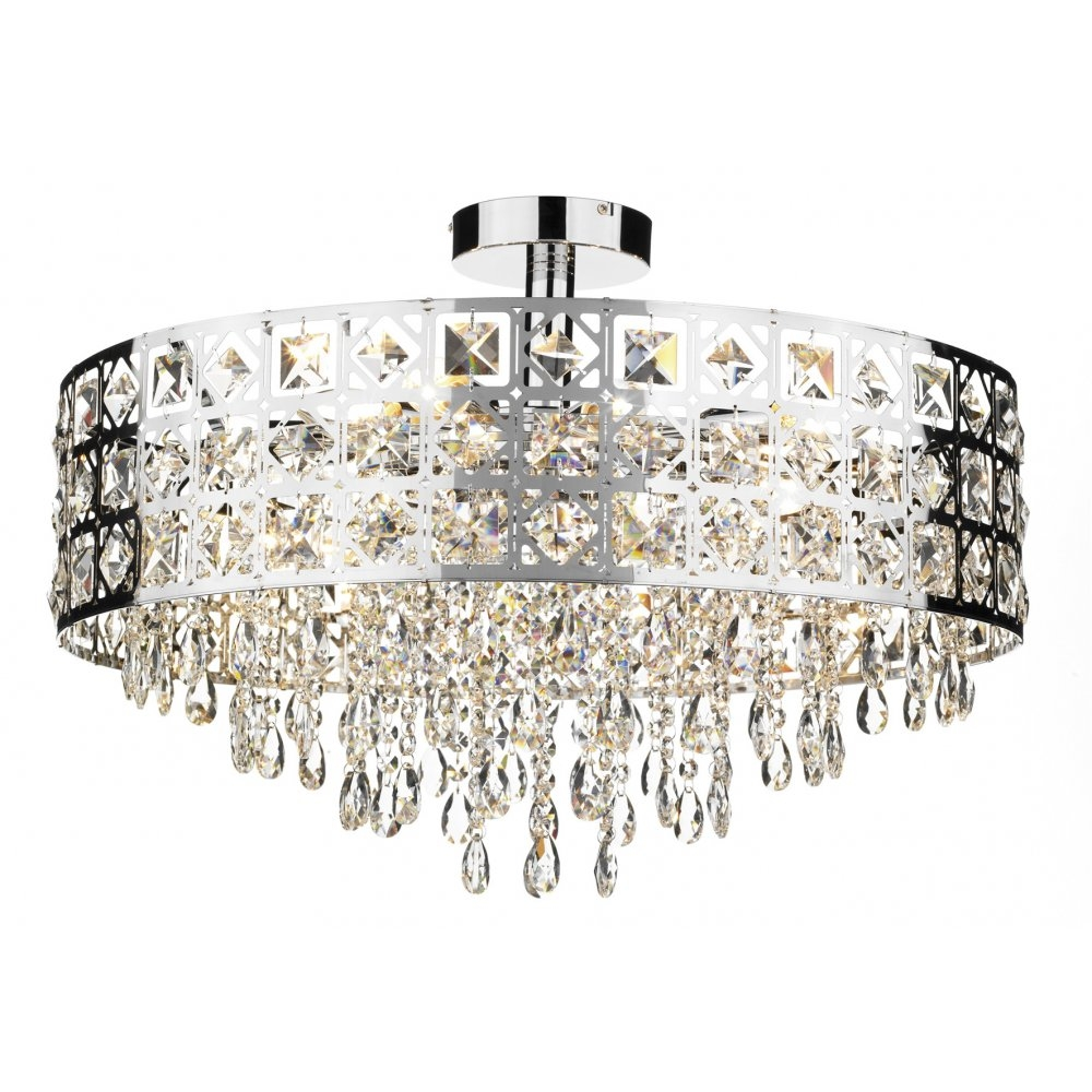 Ceiling Lighting Chandeliers With Regard To Your Property Throughout Flush Fitting Chandelier (#1 of 12)
