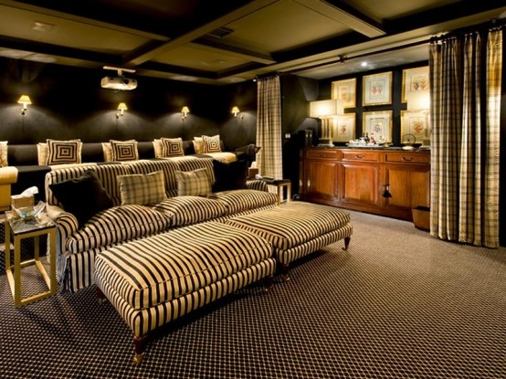 Chairs Home Theater Room Planning Ideas Interesting Appearance Inside Theater Room Sofas (#4 of 15)