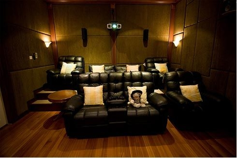 Chairs Home Theater Room Planning Ideas Interesting Appearance Pertaining To Theater Room Sofas (#5 of 15)