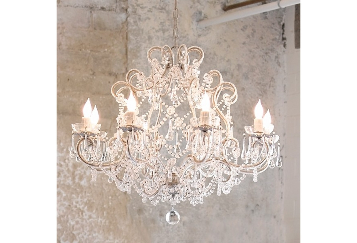 Chandelier Amazing Shab Chic Chandelier Simply Shab Chic With Country Chic Chandelier (#6 of 12)