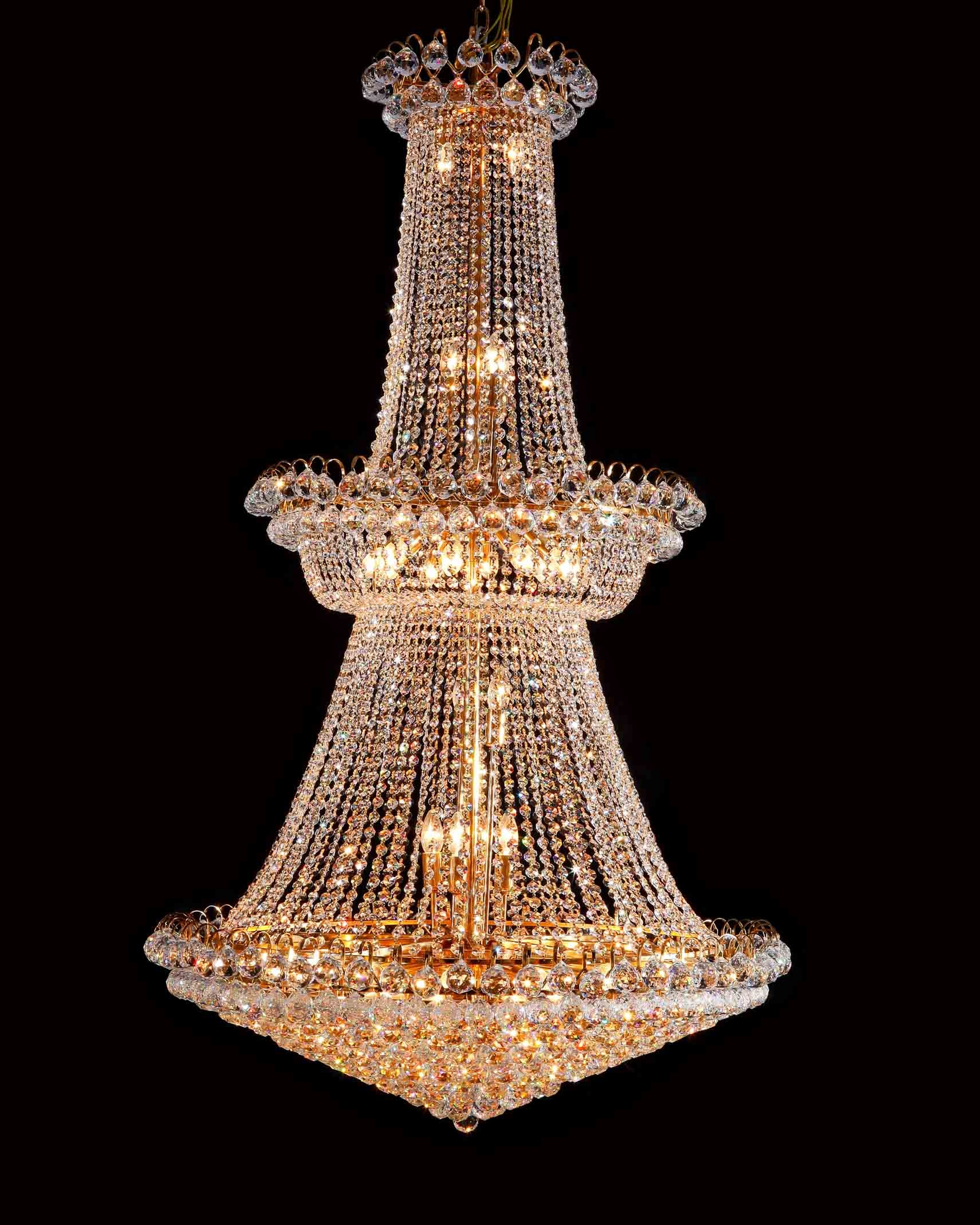 Chandelier Awesome Large Crystal Chandelier Large Round Crystal Throughout Large Crystal Chandeliers (#2 of 12)