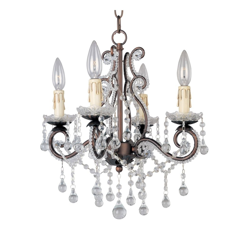 Chandelier Bronze Crystal Thejots With Regard To Bronze And Crystal Chandeliers (#5 of 12)