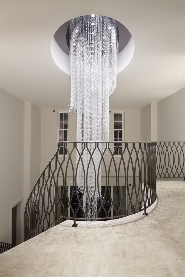 Popular Photo of Long Hanging Chandeliers