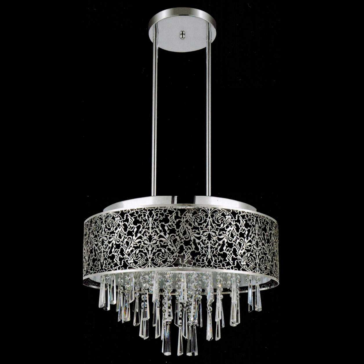 Chandelier Contemporary Chandelier Lights Awesome Image Concept Pertaining To Black Contemporary Chandelier (#4 of 12)