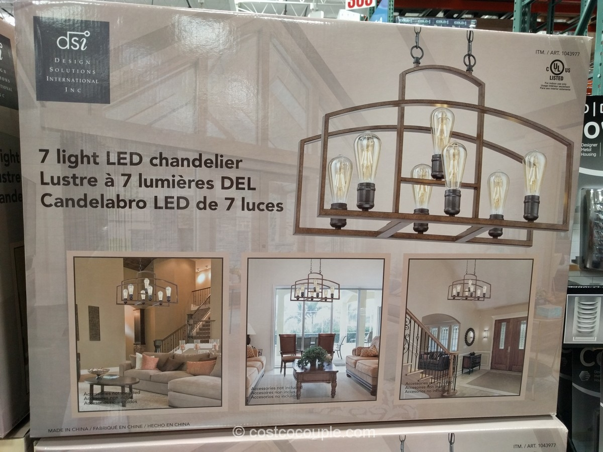 Chandelier Costco Chandelier Lighting Swarovski Chandeliers For Pertaining To Costco Lighting Chandeliers (#3 of 12)