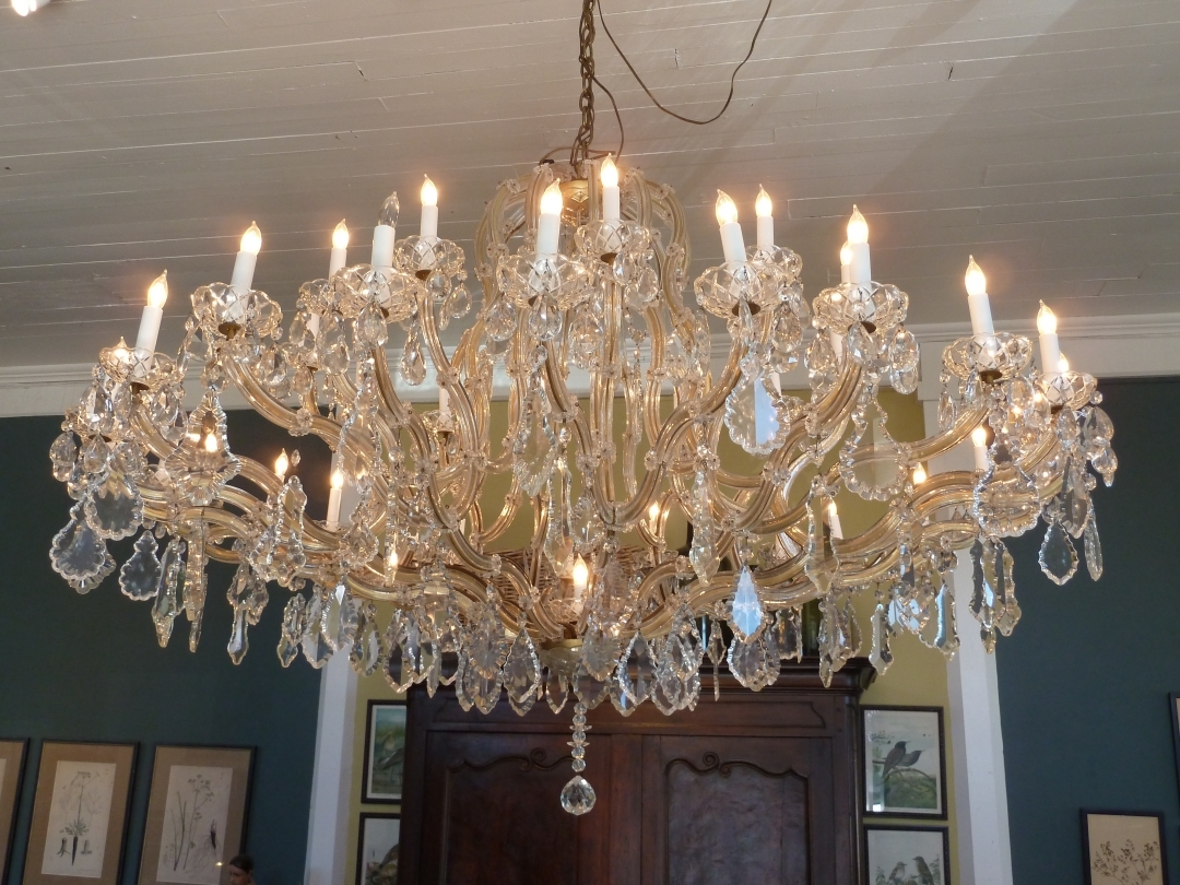 Chandelier Stunning French Crystal Chandelier Empire Chandeliers Inside French Crystal Chandeliers (View 4 of 12)