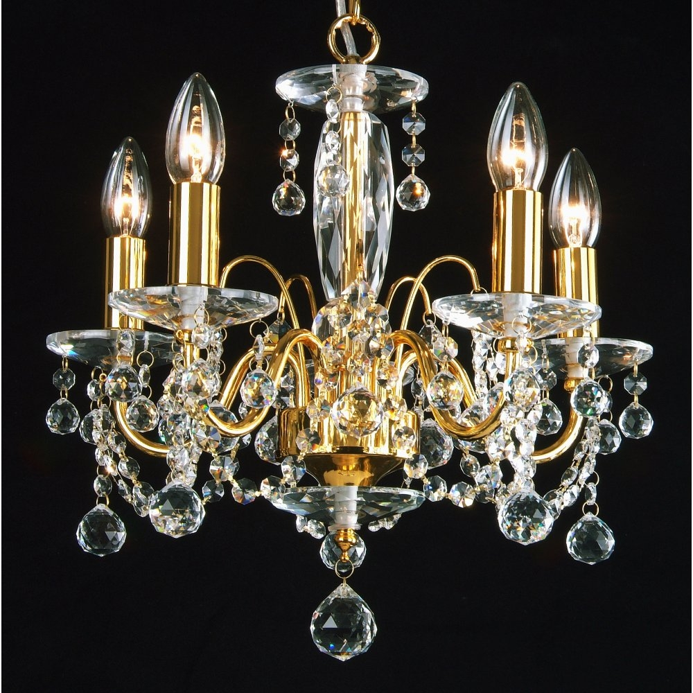 Chandelier Stunning Gold Chandeliers Cheap Gold Chandelier Gold Inside Crystal Gold Chandelier (#4 of 12)