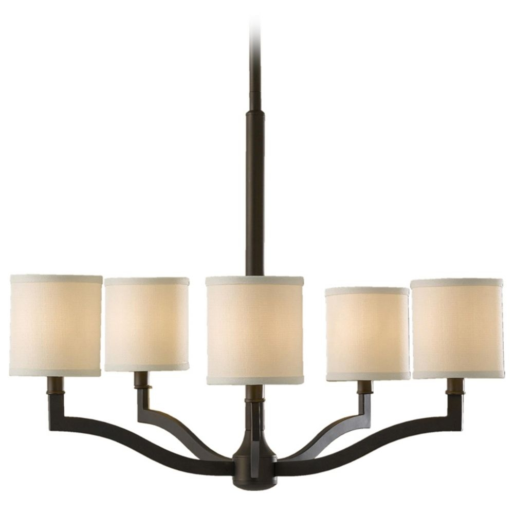 Popular Photo of Bronze Modern Chandelier