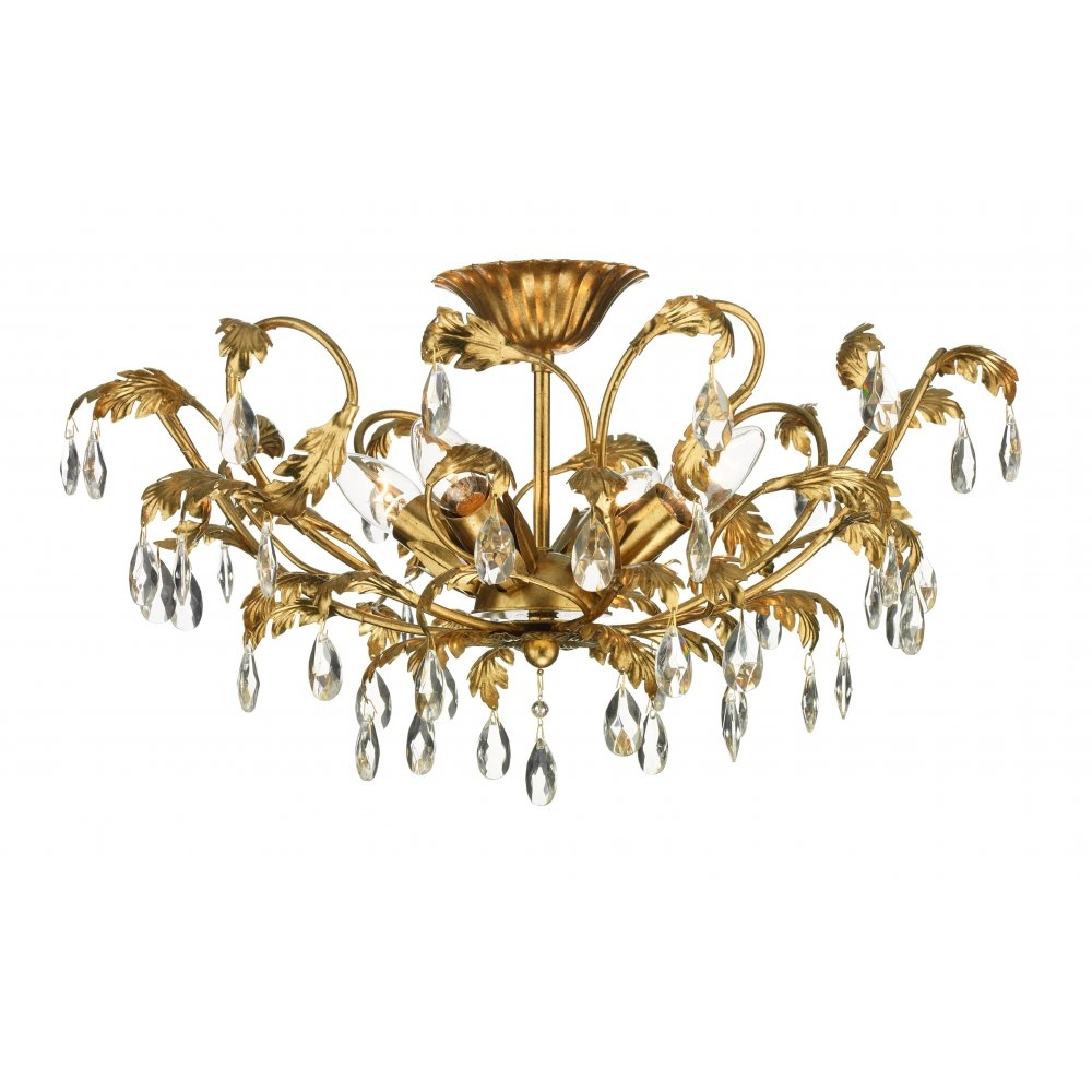 Chandeliers For Low Ceilings Shanti Designs Pertaining To Chandeliers For Low Ceilings (#5 of 12)