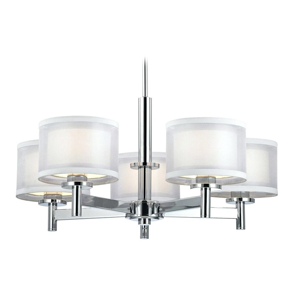 Chandeliers Led Bulb Chandelier For Entryway Foyer Table Dw5015c Pertaining To Small Red Chandelier (#8 of 12)