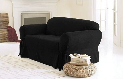 Cheap Elastic Sofa Cover 2 Seater Find Elastic Sofa Cover 2 Inside Black Slipcovers For Sofas (#9 of 15)
