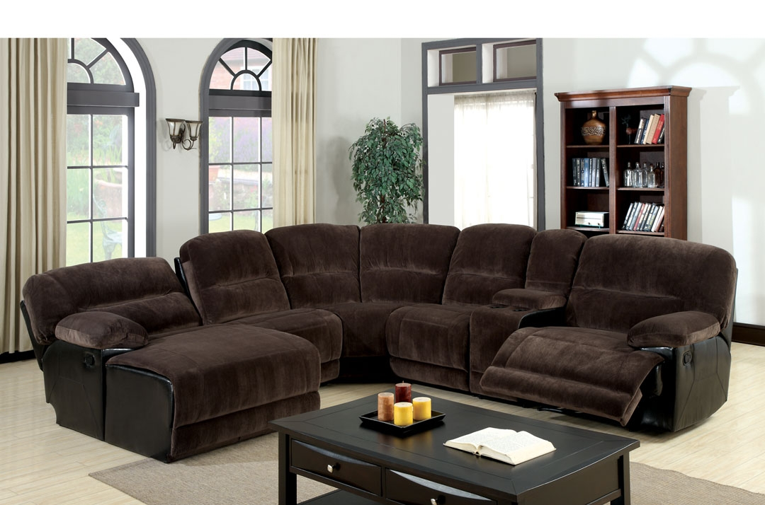 Cheap Furniture Couch Sofas Cool Sectional Sofas With Recliners With Sectional Sofas For Small Spaces With Recliners (#3 of 15)