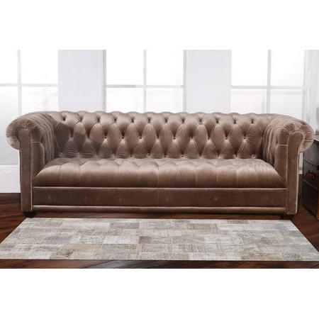 15 collection of cheap tufted sofas for Small tufted sofa