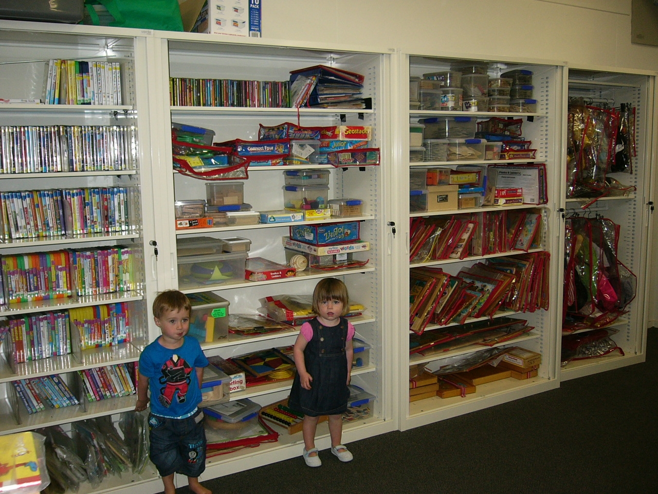 Check Out Our New Cupboards Fun Games Toy Library Throughout Library Cupboards (#1 of 12)