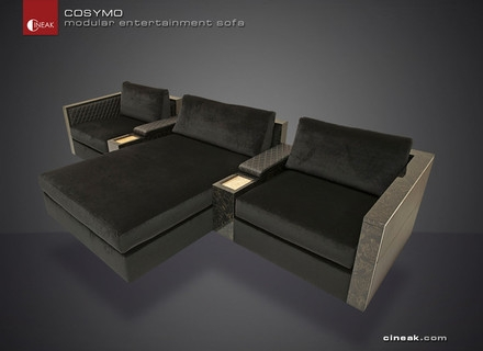 Chill Out Lofts Pinterest Home Theaters Grey And Theater Rooms For Theater Room Sofas (#6 of 15)