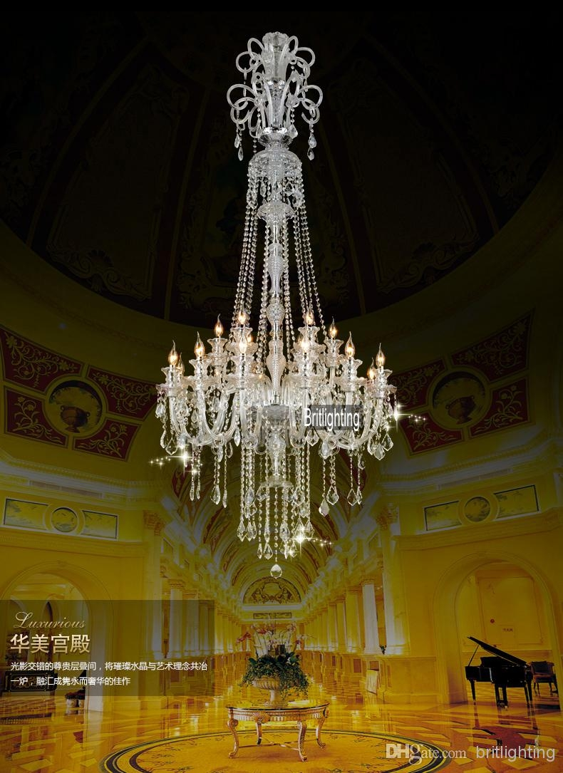 Chinese Chandeliers Large Kitchen Chandelier Crystal Pendants For Throughout Modern Large Chandelier (#8 of 12)