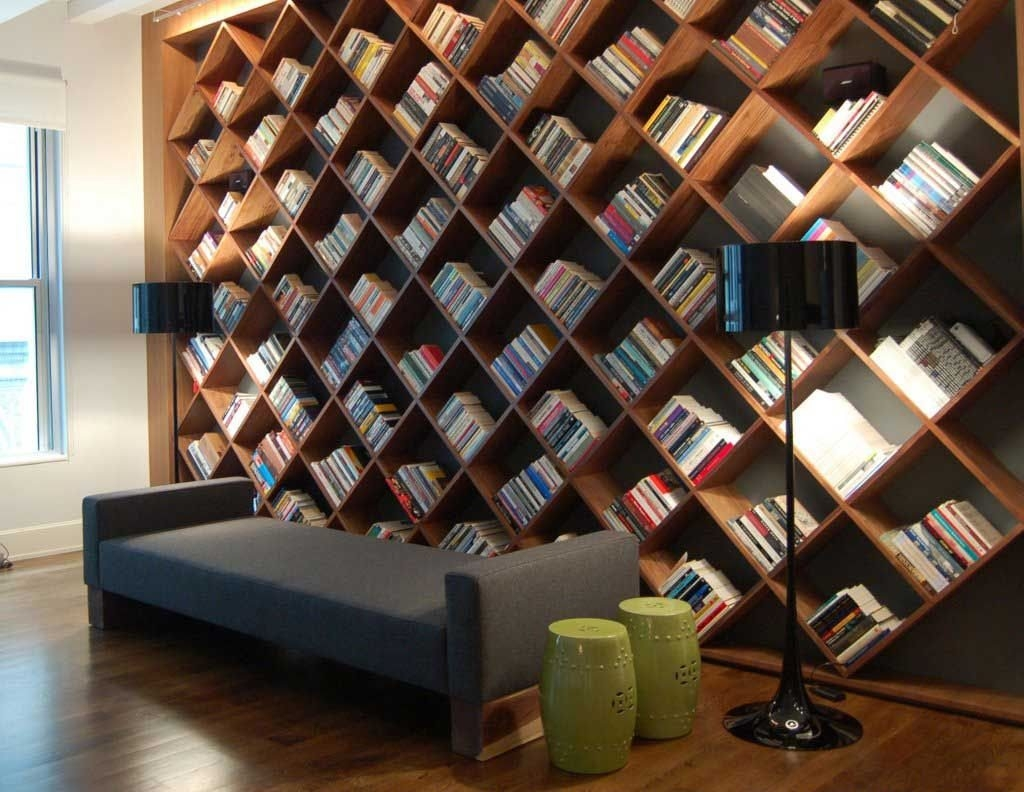 Choosing The Best Wooden Bookshelves Wearefound Home Design With Wooden Bookshelves (#4 of 14)
