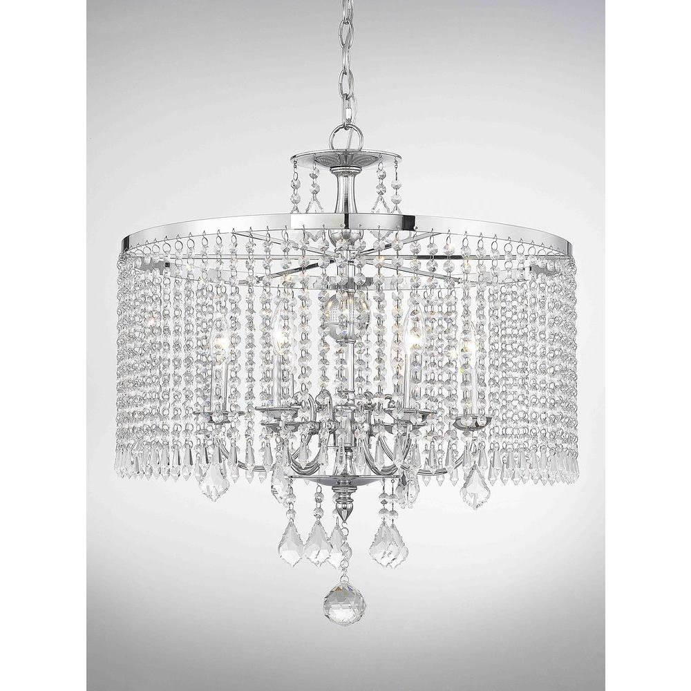 Popular Photo of Chandelier Chrome