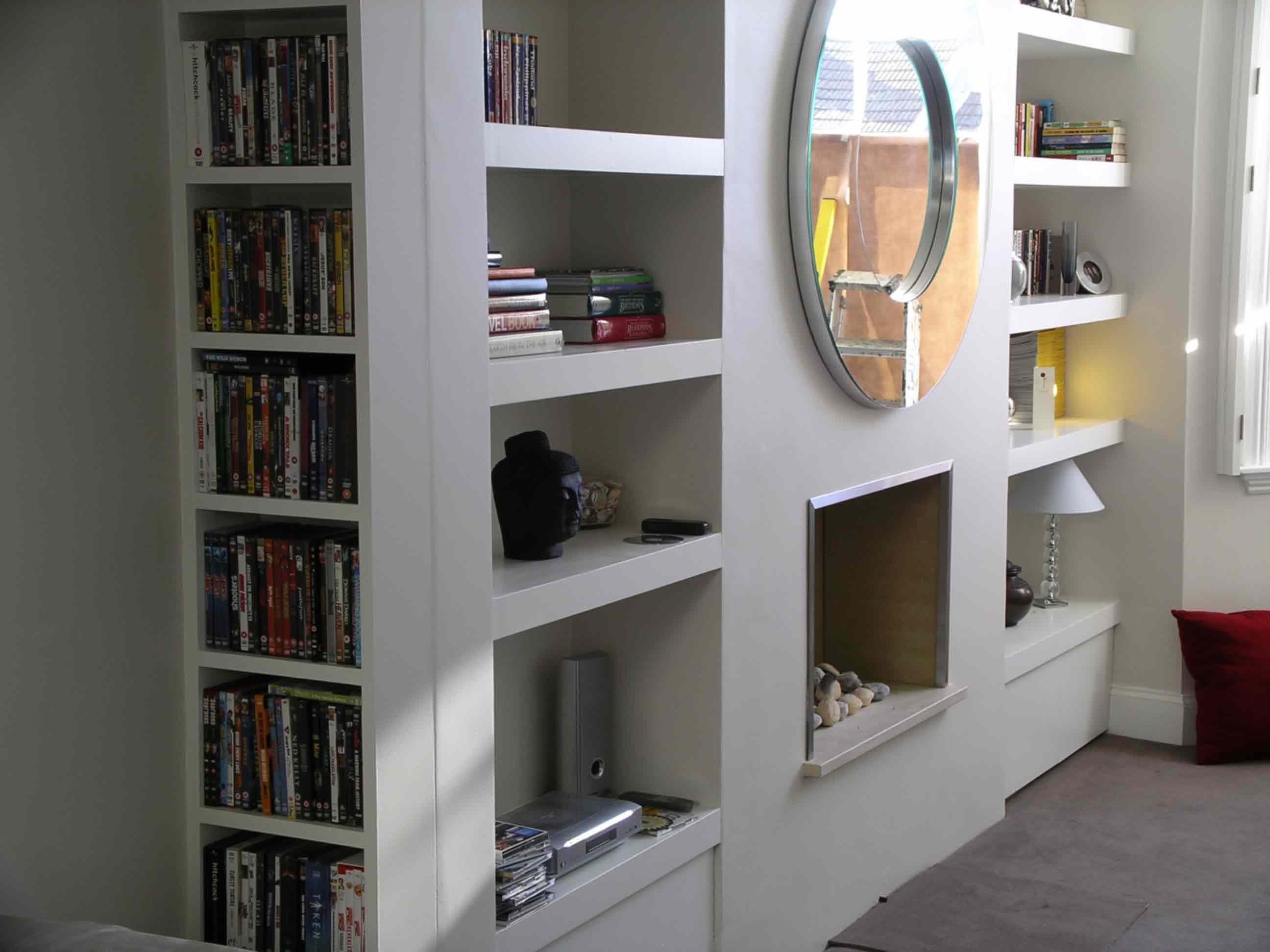 Chub Floating Shelf Alcove Cupboard Peter Henderson Furniture For Fitted  Shelves And Cupboards (#4
