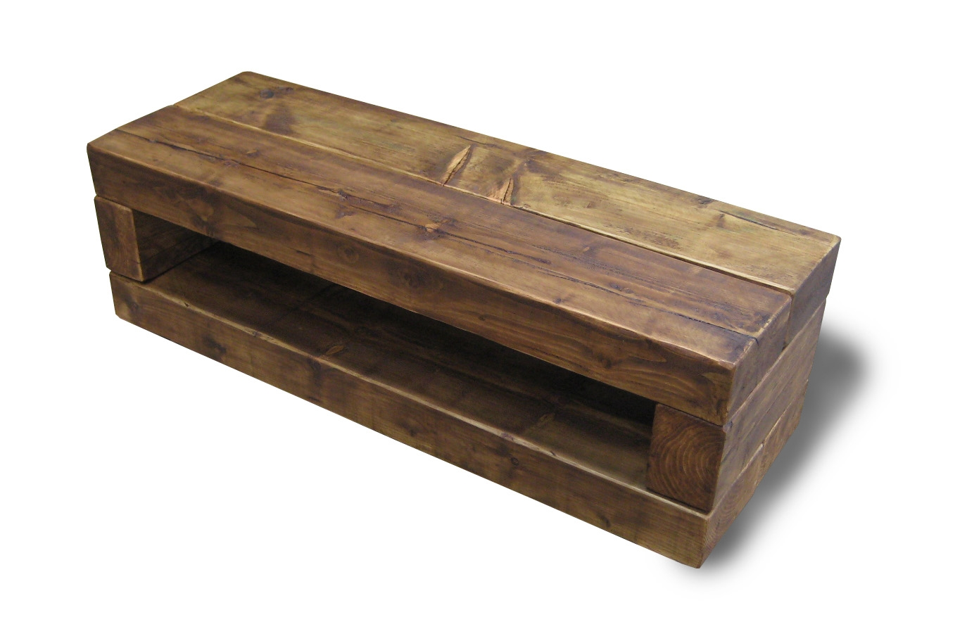 Chunky Stretch Tv Stand The Cool Wood Company Pertaining To Handmade Tv Unit (View 3 of 15)
