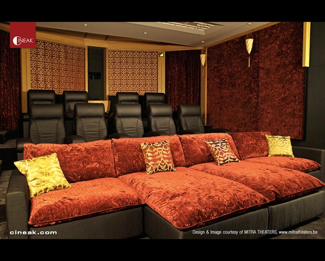 Cineak Intimo Fortuny Luxury Home Theater Modern Home Pertaining To Theater Room Sofas (#7 of 15)