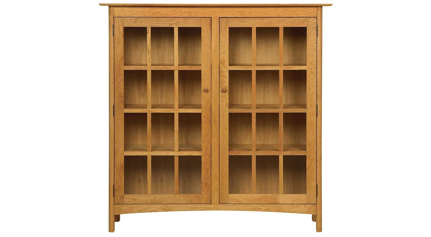 Circle Furniture Solid Wood Bookcase Bookcases Furniture Inside Solid Wood Bookcases (#5 of 15)