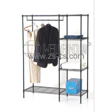 Cj B1125 China Metal Wardrobe Shelf Manufacturer Supplier With Regard To Metal Wardrobes (View 2 of 15)