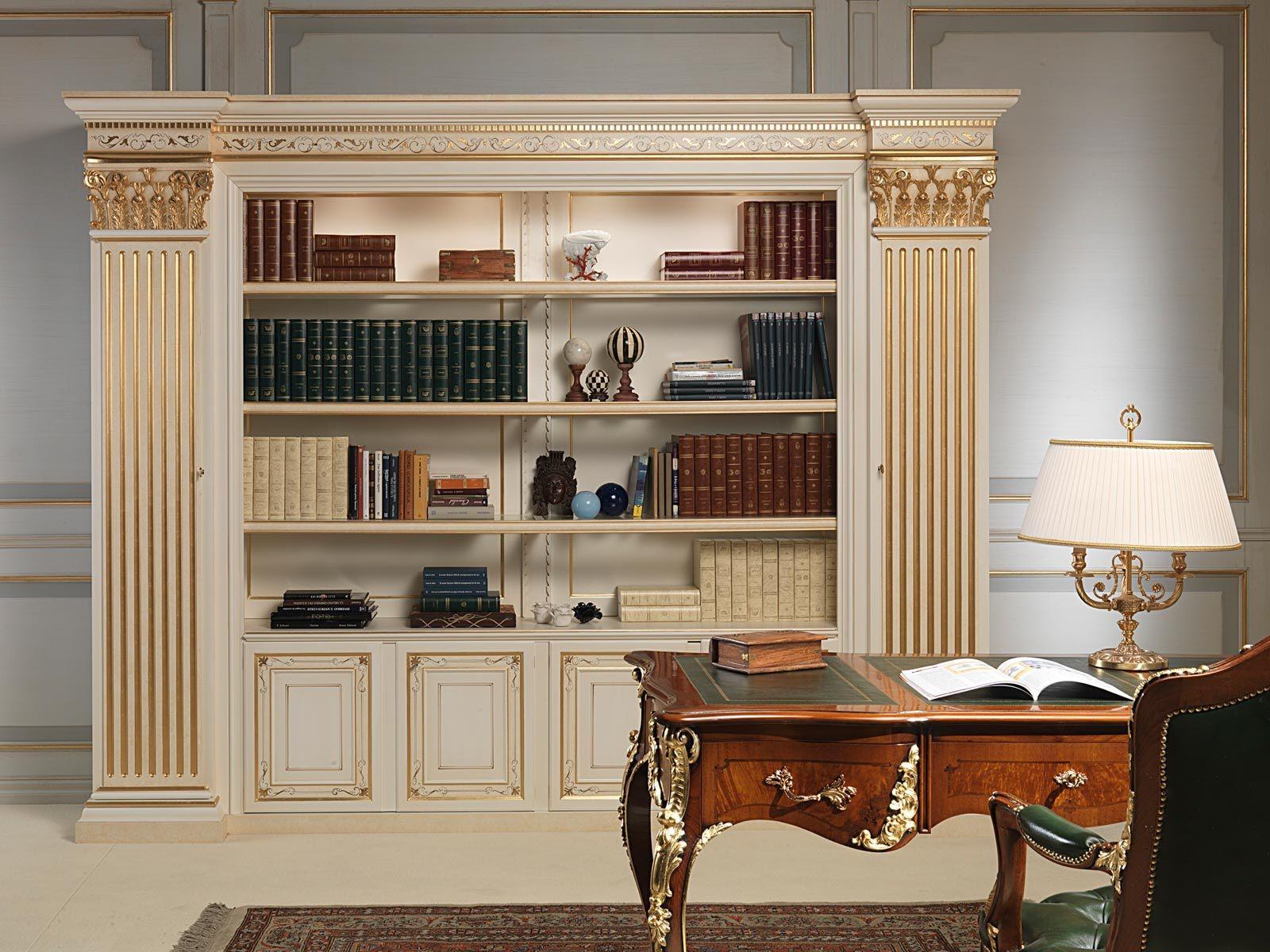 Classic Bookcase Wooden Vimercati Meda Luxury Classic Furniture Pertaining To Classic Bookcase (#4 of 15)