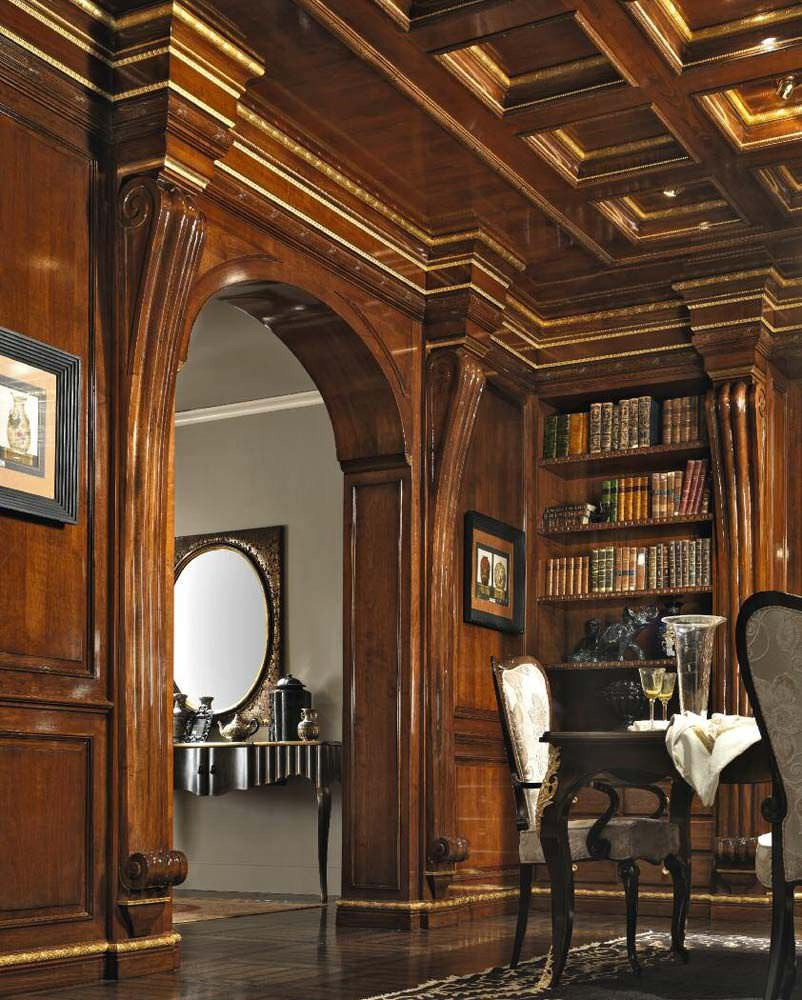 Classic Bookcase Wooden Way Of Life Pregno Throughout Classic Bookcase (View 2 of 15)