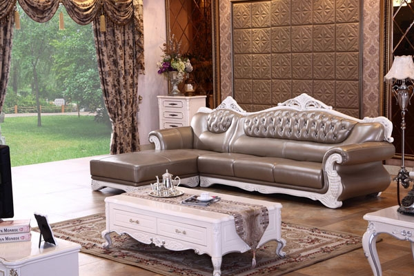 Classic European Leather Sofa Yuanrich Regarding European Leather Sofas (#5 of 15)