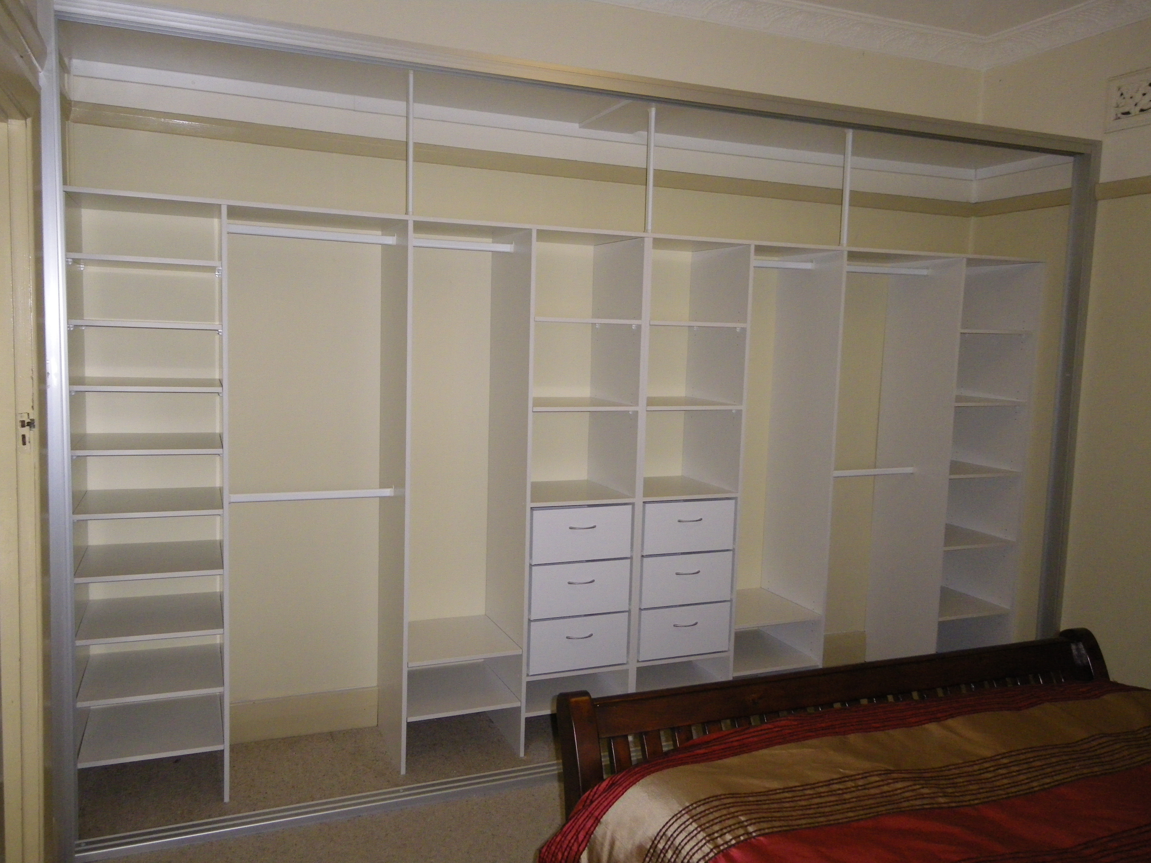 Closet Built Ins Ideas Roselawnlutheran Within Built In Cupboard Shelving (View 6 of 15)