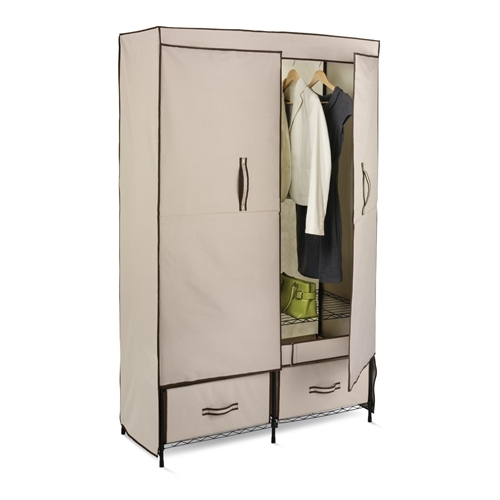 Closet Cabinet Design Images Throughout Mobile Wardrobe Cabinets (#2 of 15)