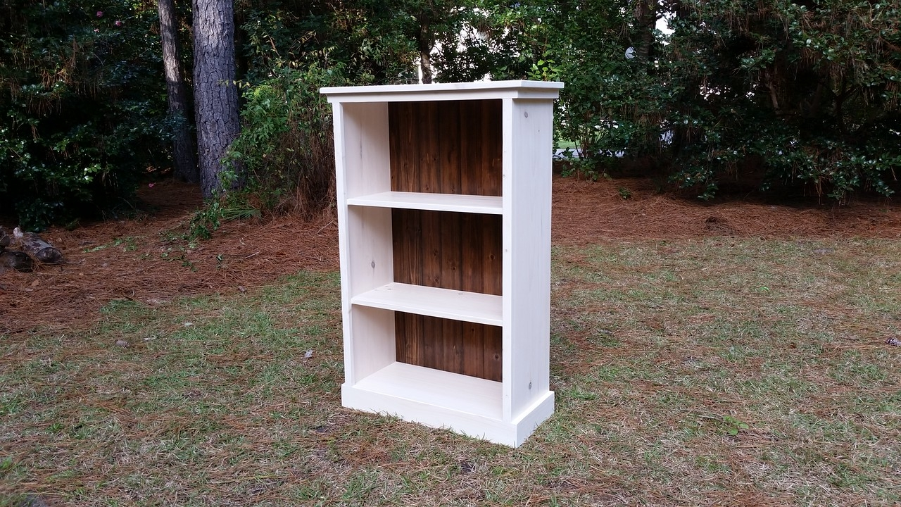 Coastal Oak Designs Handmade Bookshelf Regarding Handmade Bookcase (#4 of 15)