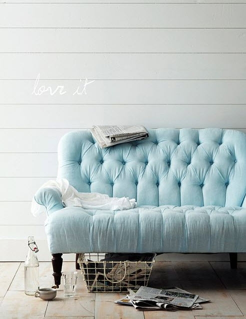 Colored Tufted Sofas Blue Button Tufted Sofa At In Seven Colors Throughout Blue Tufted Sofas (#7 of 15)