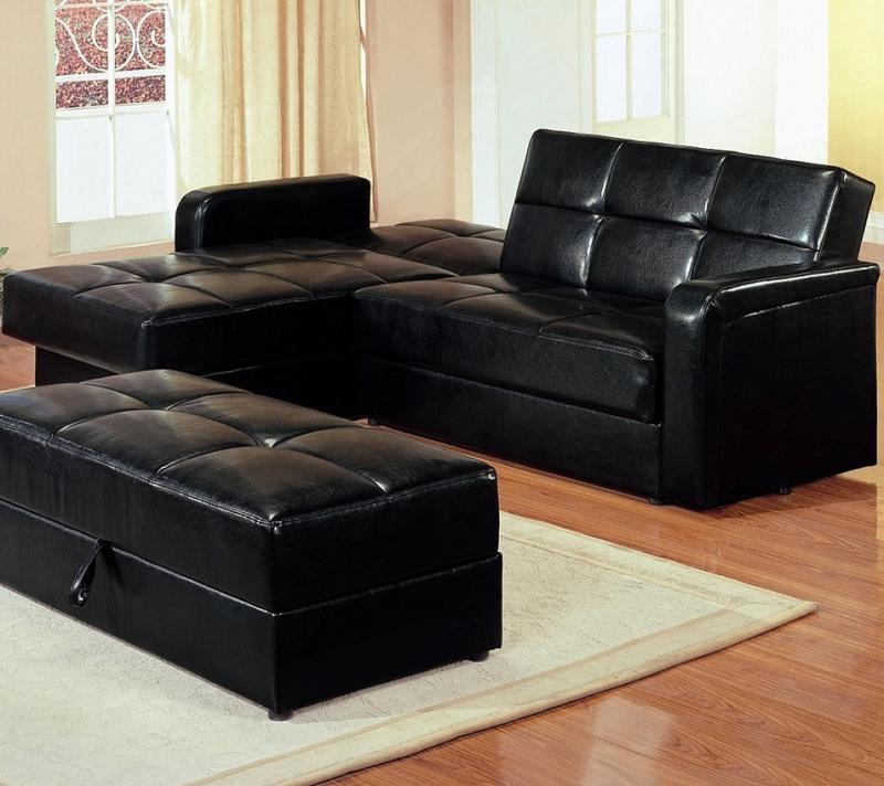 Comfortable Sectional Sleeper Sofa Design Ideas Rilane For Black Leather Sectional Sleeper Sofas (#7 of 15)