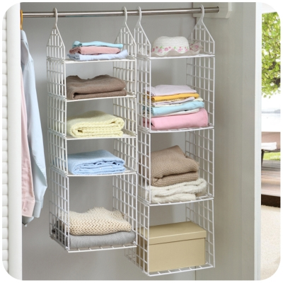 Compare Prices On Hanging Storage Shelves Plastic Closet Online With Regard To Hanging Wardrobe Shelves (View 8 of 15)