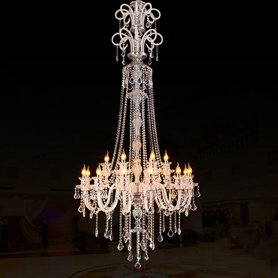 Compare Prices On Large Crystal Chandelier Online Shoppingbuy Inside Large Crystal Chandeliers (#5 of 12)