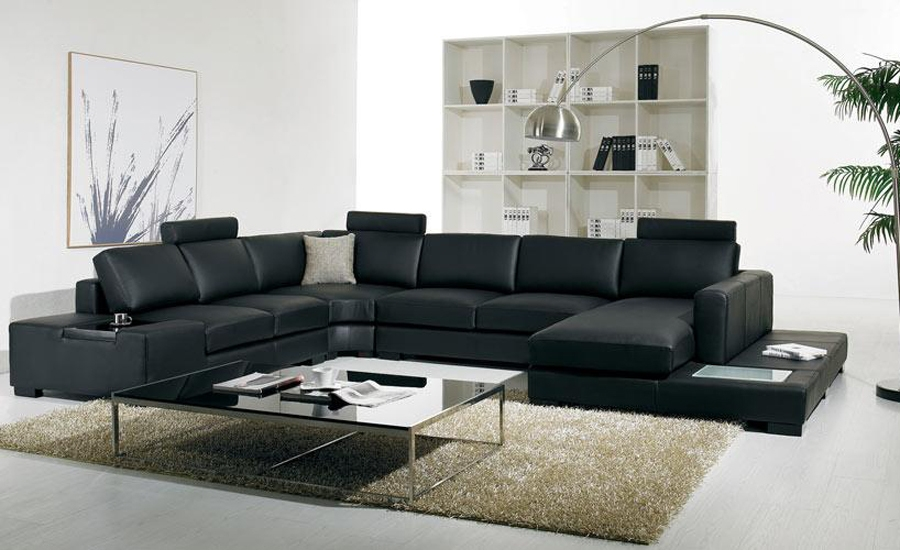 Compare Prices On Leather Corner Sofas Online Shoppingbuy Low Intended For Large Black Leather Corner Sofas (#6 of 15)