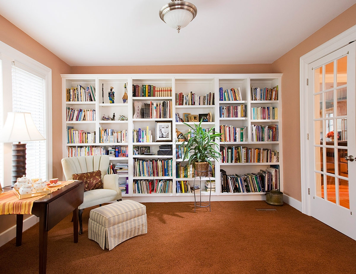 Consejos Para Crear Una Biblioteca Acogedora Doors Pertaining To Library Shelves For Home (View 5 of 15)