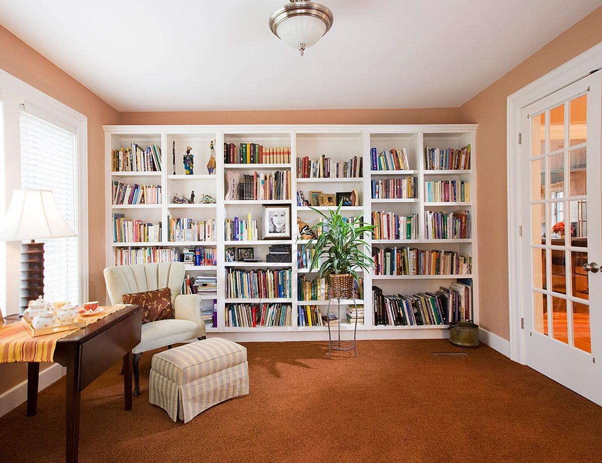 Consejos Para Crear Una Biblioteca Acogedora Doors Regarding White Library Bookcase (#4 of 15)