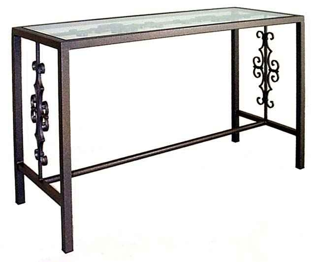 Console And Sofa Tables For Metal Glass Sofa Tables (#9 of 15)